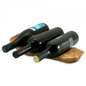 Root Wood Wine Rack