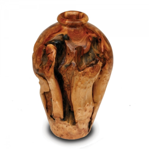 Small Root Wood Urn