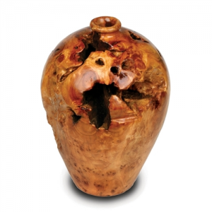 Large Root Wood Urn