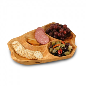 Medium Root Wood Appetizer Platter