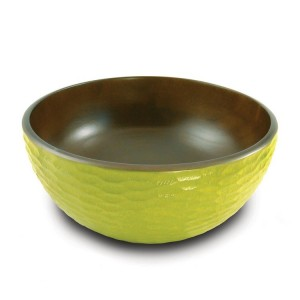 Avocado Mango Wood Serving Bowl