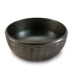 Chocolate Mango Wood Serving Bowl