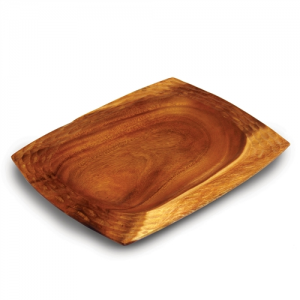 Natural Acacia Wood Serving Platter