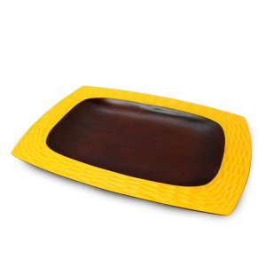 Sunflower Mango Wood Serving Platter