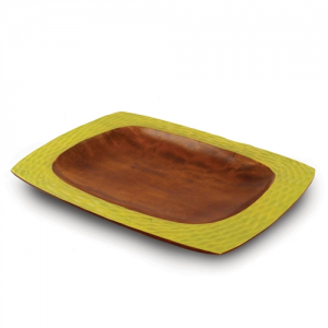 Avocado Mango Wood Serving Platter