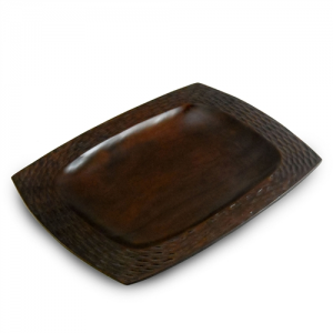 Chocolate Mango Wood Serving Platter