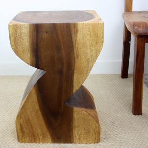"20"" x 14"" Zat 'Z' Wood End Table - Walnut"