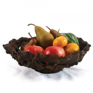 Large Driftwood Fruit Bowl