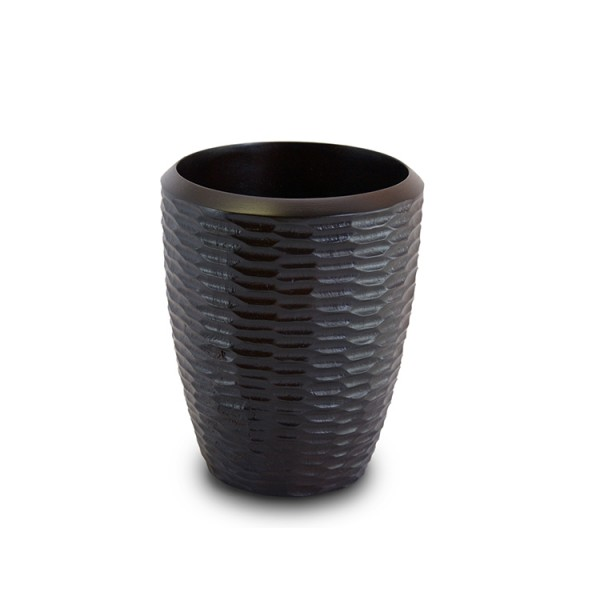 Chocolate Mango Wood Utensil Vase
