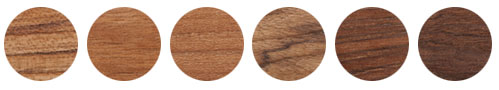 Variations of Burmese Teak, not options to choose from