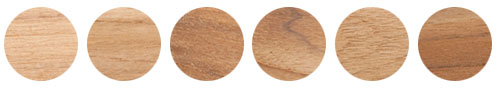 Variations of Plantation Teak, not options to choose from