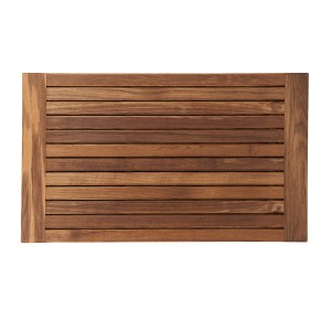 Teak Mat with Side Edges